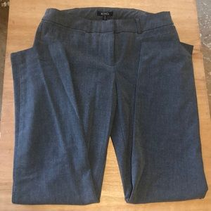 Women's grey work pants
